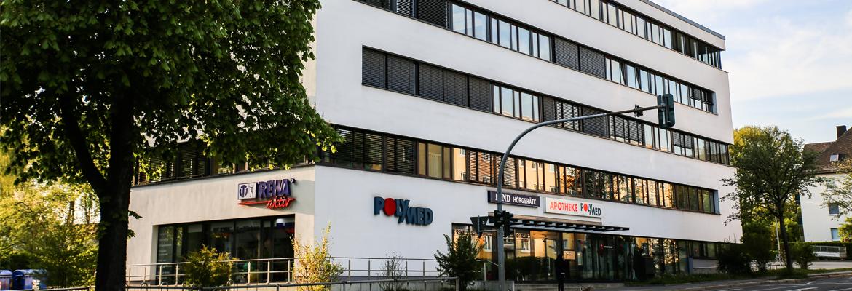 MVZ POLYMED – Ambulantes Praxiszentrum im Ärztehaus POLYMED